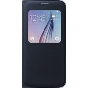Чехол-книжка S View Cover для Samsung Galaxy S6 SM-G920F черный (EF-CG920BBEGRU) фото