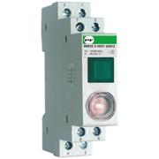 Модульная кнопка с сигнальной лампой ВК 832 З 1НО/2НЗ 1/2 Зеленая Standart ВК 832 З НП12 230 фото