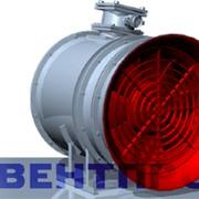 Осевой регулируемый одноступенчатый вентилятор ВМЭ-6 фото