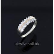 Серебряное кольцо Кромка фото