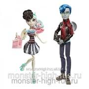 Набор из 2 кукол Рошель Гойл и Гэррот Дю Рок - Любовь в Париже Монстер Хай