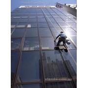 Мытье окон и мытье фасадов фото