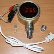 Манометр-термометр устьевой с индикатором ФОТОН-И фото