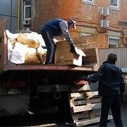 Вывоз и утилизация строительного мусора фото