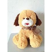 """Мягкая игрушка Baby Brok """"Собачка з бантиком"""" LH1322-1 фото"""