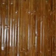 Бамбуковое полотно шоколадное фото