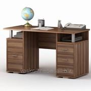 Письменный стол двухтумбовый ПС 40-07 Слива фото