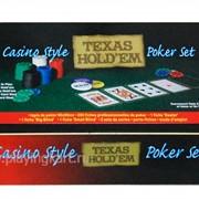 Покерный набор на 200 фишек с номиналом ГД2 фото