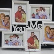 Фоторамка 6 фотографии You&Me, мультирамка фото