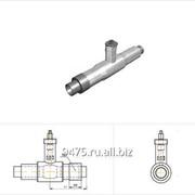 Кран шаровой стальной в оцинкованной трубе-оболочке с металлической заглушкой изоляции d=219 мм, s=6 мм, L=2200 мм фото