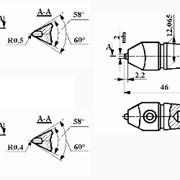 Резцы алмазные правящие ИР29; ИР104; ИР223 фото