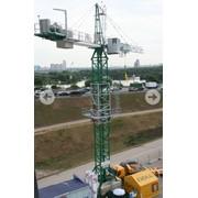Краны высотные башенные фото