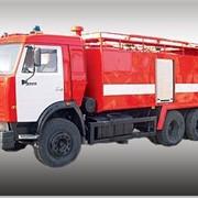 Автомобиль порошковый АП-5000 (КамАЗ-53215) фото