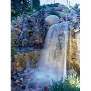 Фонтаны, водопады, пруды и каскады искусственные фото