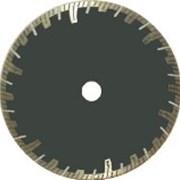 Круг алмазный (турбо с защитным зубом) 22,23x2,2x8 диам.125мм фото