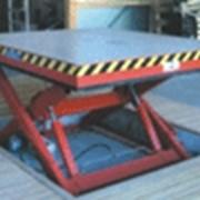 Подъемная платформа фото