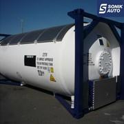 Танк-контейнер T50 для СУГ перевозки пропан бутана фото