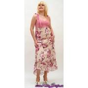 Платье женское светлое, артикул 1570 фото