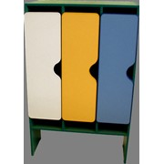 Шкаф для одежды 3-х секц М-89-3 размер 84х42х130 фото