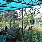 Патио - Внутренний Дворик На Даче фото