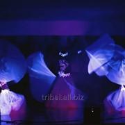 Световое свадебное шоу Ак-ку фото