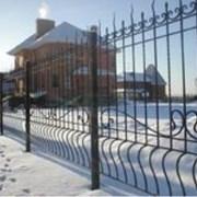 Забор сварной фото