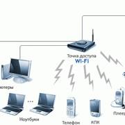 Настройка Сети, Wi-Fi, Интернет, Роутера фото