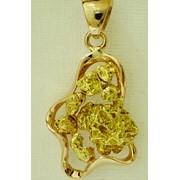 Ювелирные изделия с самородным золотом, полудрагоценными камнями, серебром фото