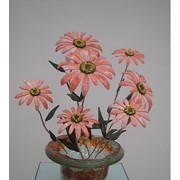 Декоративные цветы из стекла Герберы фото