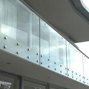 Ограждения из стекла фото