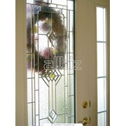 Двери стеклянные. фото