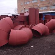 Изготовление коробов дымоудаления. фото