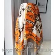Платок Hermes Orange, код 3613837 фото