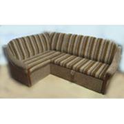 Угловой диван с 2-я подлокотниками. фото