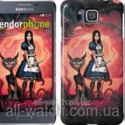 "Чехол на Samsung Galaxy Alpha G850F Alice ""533c-65"" фото"