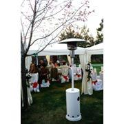 Инфракрасный нагреватель обогревает территорию диаметром до 6 м площадью 28 м² фото
