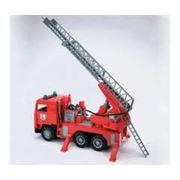 Автолестница пожарная фото