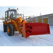 Снегоуборочное оборудование для дорог фото