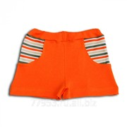 Шорты детские с карманами 3258-ип интерлок пенье, размер 52-92 фото