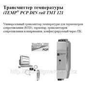 Трансмиттер температуры iTEMP® PCP DIN rail TMT 121 фото