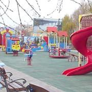 Строитьельство детский городок фото