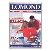 Переплетный картон Lomond 216х303мм, толщина 2мм, 10 листов 1511001 фото