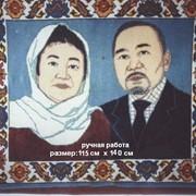Изготовление ковров. фото