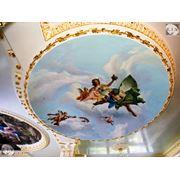 Строительство и роспись потолка