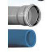Трубы ПВХ водопроводные напорные раструбные фото