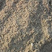 Крупнозернистый песок речной фото