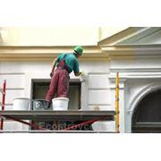 Декорирование фасада дома Фасадно-отделочные работы фотография
