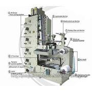 5-ти красочная Флексографская печатная машина ATLAS-320 фото