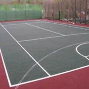 Покрытия из резиновой крошки для теннисных кортов фото