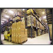 Стеллажное хранение грузов на сети складов по России и СНГ фото